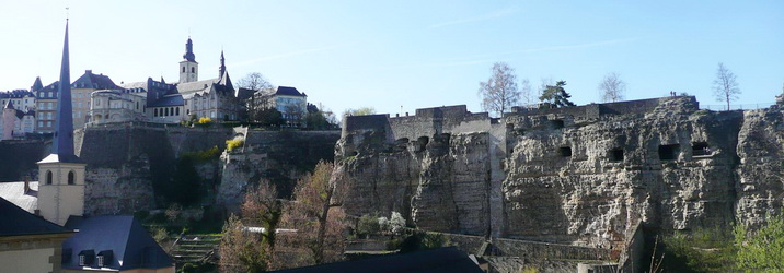Excursion in Luxembourg