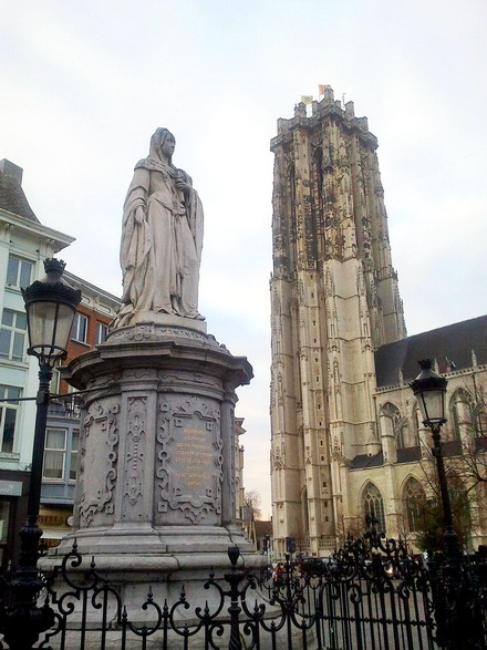Mechelen Cathedral St. Rombaut and Marguerite of Austria