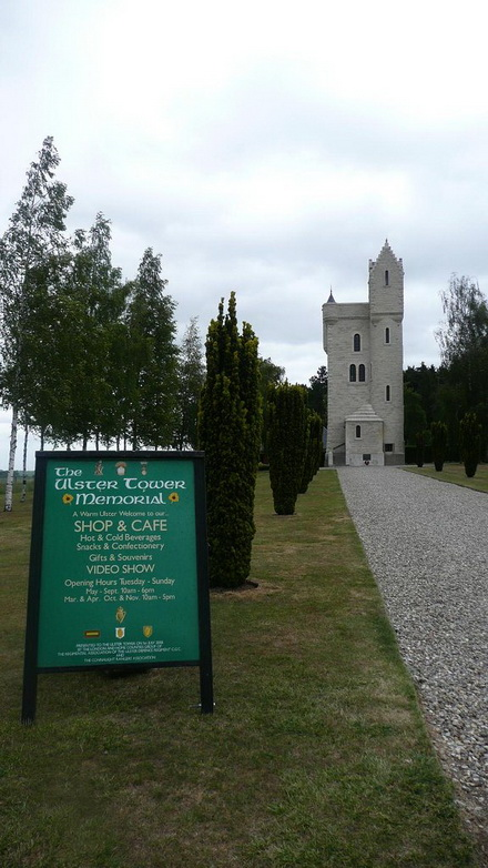 The Ulster Tower Memorial