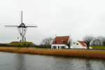Stone Windmill in Damme Bruges