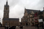 Belfry and Old Ttownhall. Ghent. Belgium
