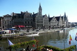 Old Harbour. Ghent. Belgium