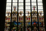 Stained Glass Cathedral. Ghent. Belgium