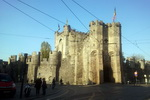 The Gravensteen Castle. Ghent. Belgium
