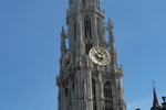 Markt Dominated by Tower. Antwerp. Belgium