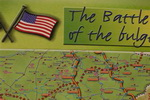 The Battle Of The Bulge Map Bastogne. Belgium